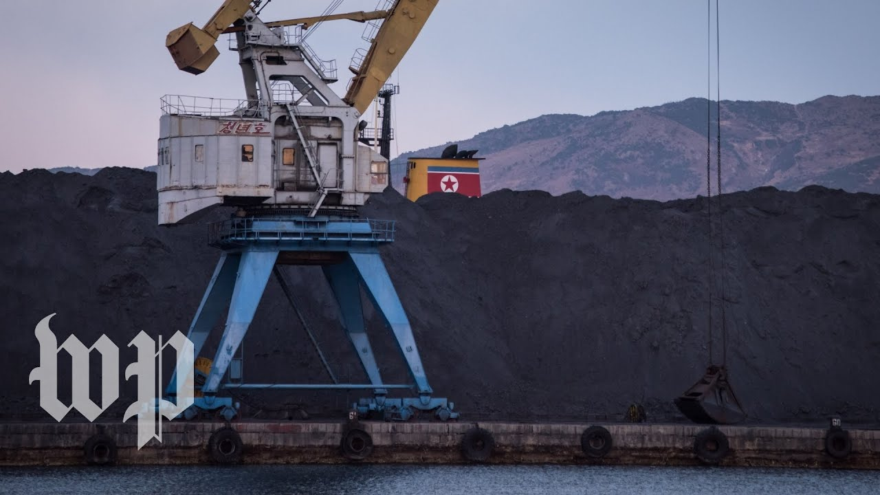 Here's how North Korean coal turns into Russian coal