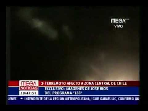 HAARP colors in the sky Before Chile Earthquake!