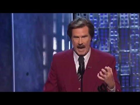 Ron Burgundy at Justin Bieber's roast: 'He...