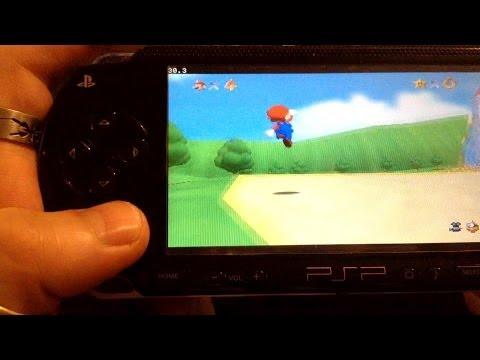 N64 emulator on PSP!