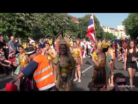 Karneval der Kulturen 2013 Berlin Team 65 Thai Smile