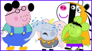 Peppa pig New episodes se Disfraza I George Crying I Hulk Goofy Mickey Minnie I New Disguise