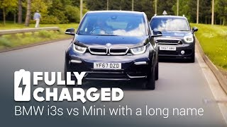 BMW i3s vs Mini with a long name | Fully Charged
