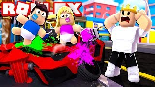 WORST BABY RUINED MY NEW SUPERCAR | Roblox - Adopt Me