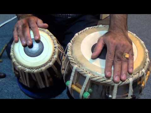 Tabla Lesson # 18 Tirkit Practice video