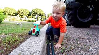 Car toy Excavator truck by Max Time