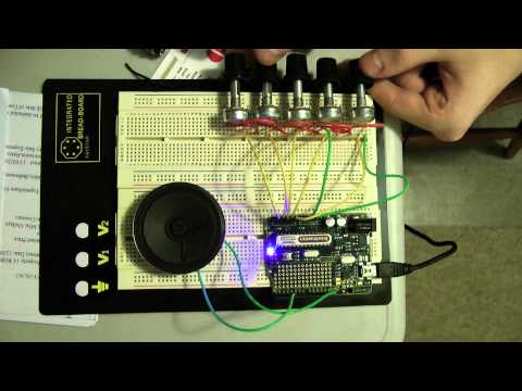 Auduino Lo-fi Synth using Freetronics Eleven