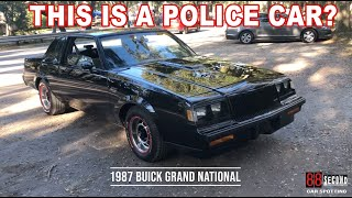 1987 Buick Grand National.  POLICE Car?? - Eric Johnson: 88 MPH 88 Second Review