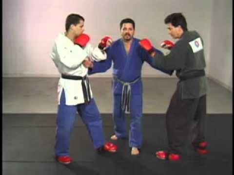 Sport Jujitsu Rules Lock-up Standing Position Image 1