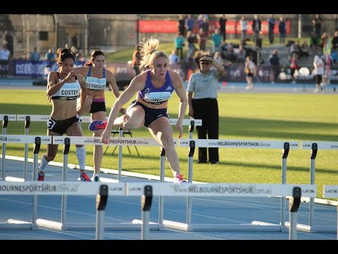 Sally Pearson wins 100mH (12.93) | IAAF Melbourne World Challenge