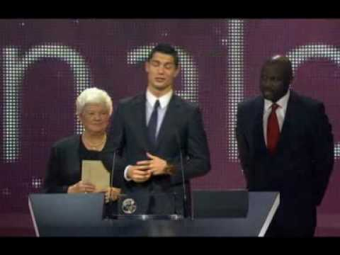 "Cristiano Ronaldo talks about his award:FIFA Puskas Award for 2009's ""most beautiful goal"" thumbnail"