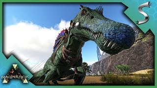 SPINO TAMING IN THE CANYONS! - Ark: RAGNAROK [DLC Gameplay S3E75]