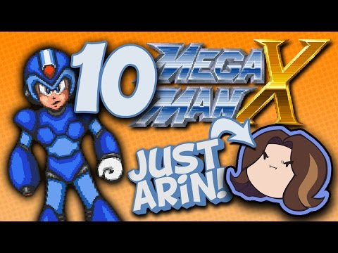 MegaMan X: Alarmingly Handsome Boss  - PART 10 - Game Grump