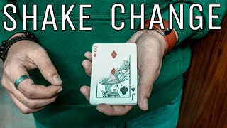VISUALLY Change A Card | Shake Change Card Trick Tutorial