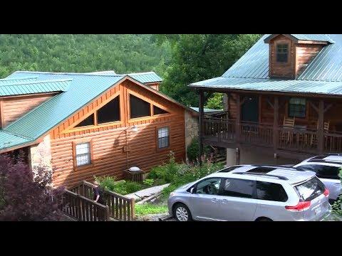 Wyprawa na Tail of the Dragon -  Prezentacja Naszego Domku - Lodge at Tellico Plains. TN