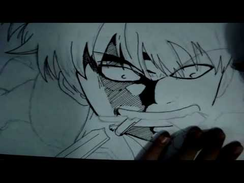 How to Draw Gintoki From Gintama坂田銀時