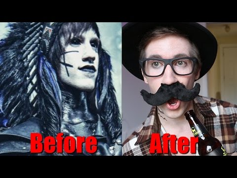 GOTH to HIPSTER (TRANSFORMATION)