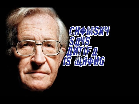 Chomsky Says Antifa is Wrong