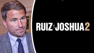 WHY SAUDI ARABIA? - Eddie Hearn on Anthony Joshua Rematch with Andy Ruiz