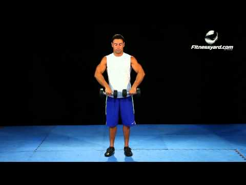 Top Shoulder Exercises - Dumbbell Upright Row Image 1