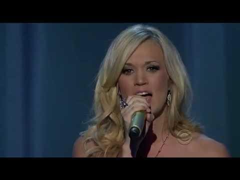 Carrie Underwood Temporary Home ACM CMA 2010