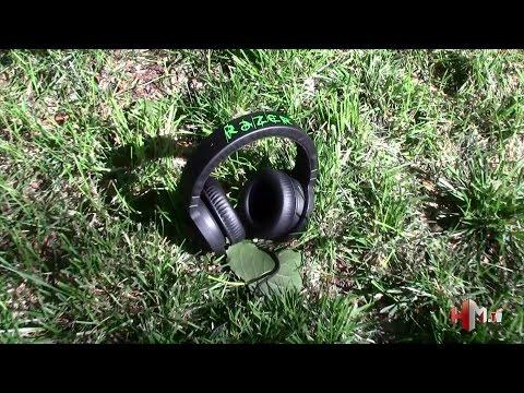 Review unboxing auriculares Razer Kraken 7.1 en español
