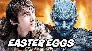 Game Of Thrones Season 8 - Night King End Game Easter Eggs Breakdown