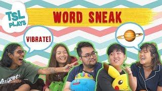 TSL Plays: Word Sneak