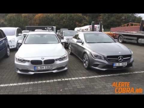 Alerte Cobra - Véhicules 2014 : Mercedes CLA & BMW Série 3
