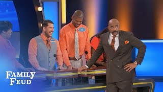 Meet Demetrius the BOOTYOLOGIST!!!  | Family Feud