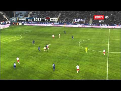 Liga 1 - SC Bastia 4 vs PSG 2 - 10/01/2015