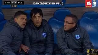 sport boys vs bolivar  1  -  2