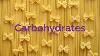 A Level Biology  - Carbohydrates