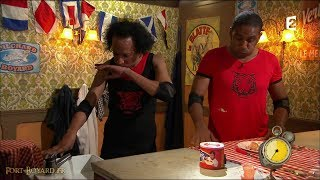 Fort Boyard 2017 - Loup-Denis Elion & Vincent McDoom chez Willy Rovelli