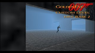 GoldenEye 007 N64 - Hill Base 2 - 00 Agent (Custom level)