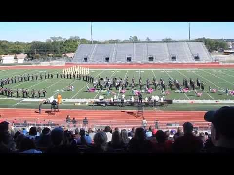 Burleson High School Marching Band UIL 2013
