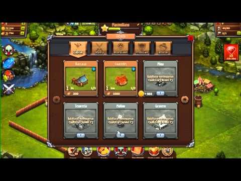 Sebastian Gameplays | Throne Rush | Juegos del face xd