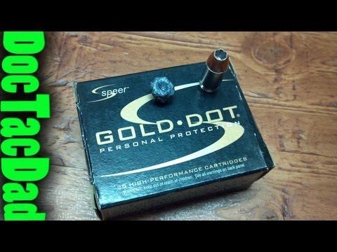 Hog's Head Ballistics - Speer Gold Dot 90gr .380 ACP