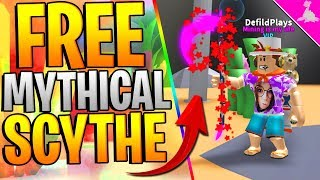 2X FREE MYTHICAL SCYTHE IN ROBLOX MINING SIMULATOR! *FREE GAMEPASSES*