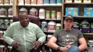 Leroy Colbert Speaks about THE SECRET OF BODYBUILDING pt 1