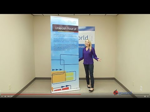 HD Retractable Banner Stands