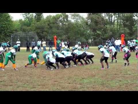 GMYFL 2012 GOTW week# 6 West Laurel Stallions vs Patuxent Rhinos.