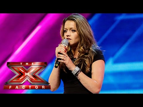 Emily Middlemas sings Coldplay's Yellow | Arena Auditions Wk 2 |  The X Factor UK 2014