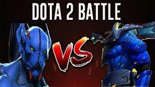 Dota 2 Battle #19   Night Stalker Versus Sven