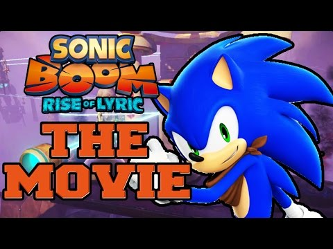 Sonic Boom: Rise Of Lyric Wii U - The Movie (2014) All Cutscenes [hd] video