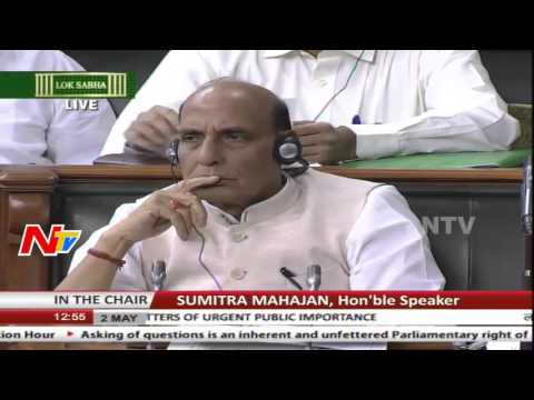 Rajnath Singh Speech In Lok Sabha || Part 02 || NTV