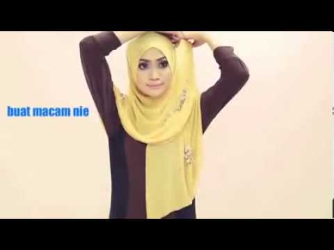 Tutorial Hijab Pasmina Modern,trendy dan Ellegant