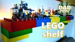 DadCrafted LEGO Shelf