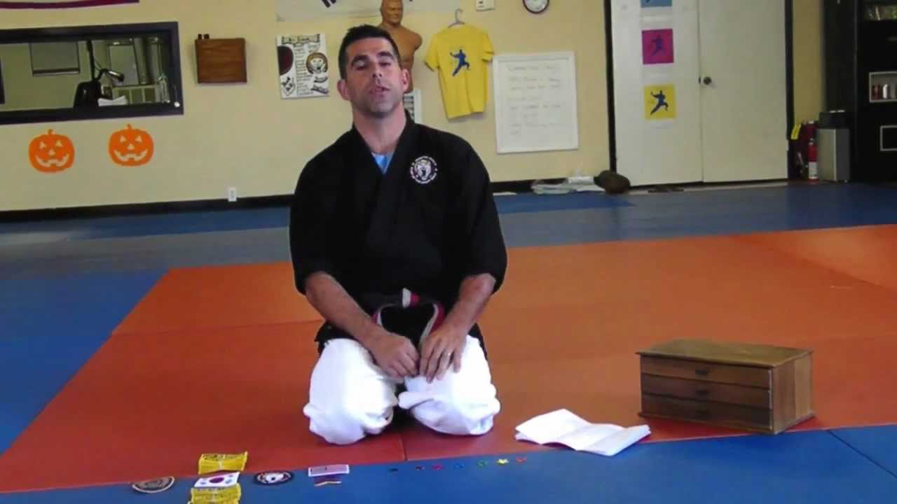 Patch Program at Webster's Martial Arts Academy