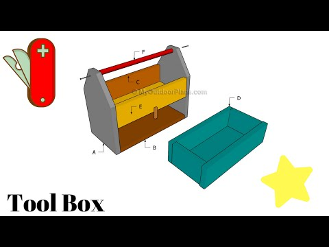 simple woodtools box construction